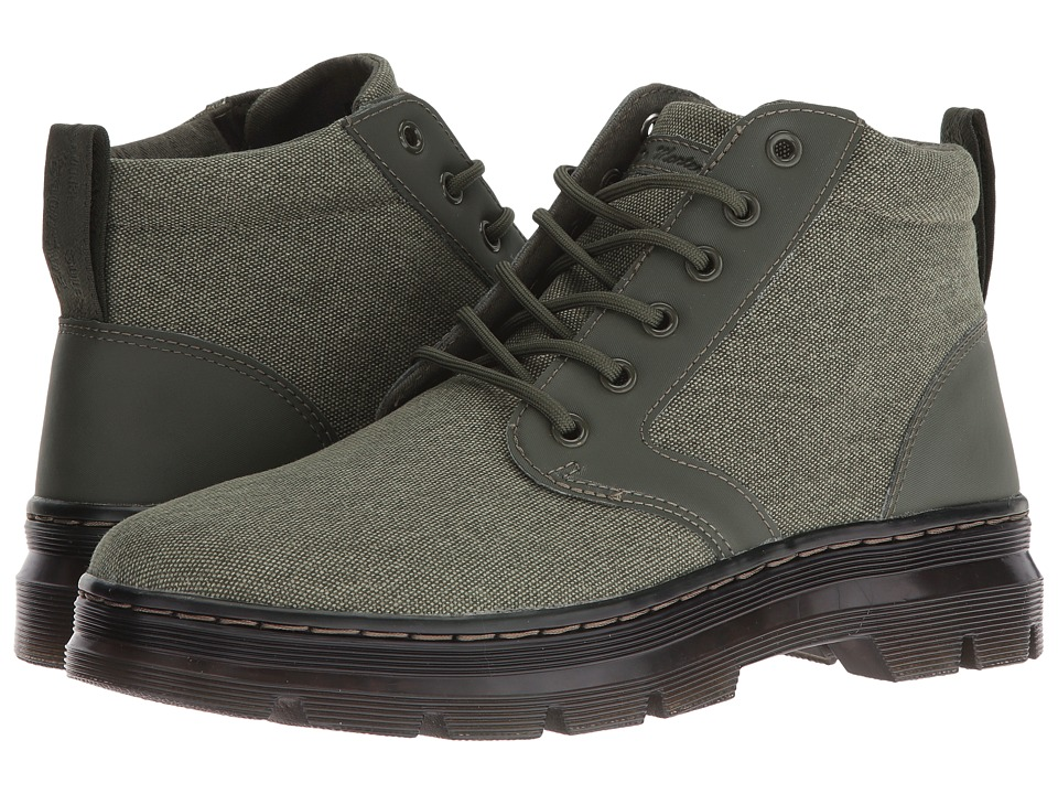Dr. Martens Bonny Chukka Boot (Army Green 16oz. Washed Canvas/Kanga) Lace-up Boots