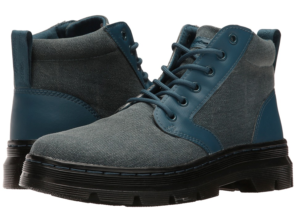 Dr. Martens - Bonny Chukka Boot (Lake Blue 16oz. Washed Canvas/Kanga) Lace-up Boots
