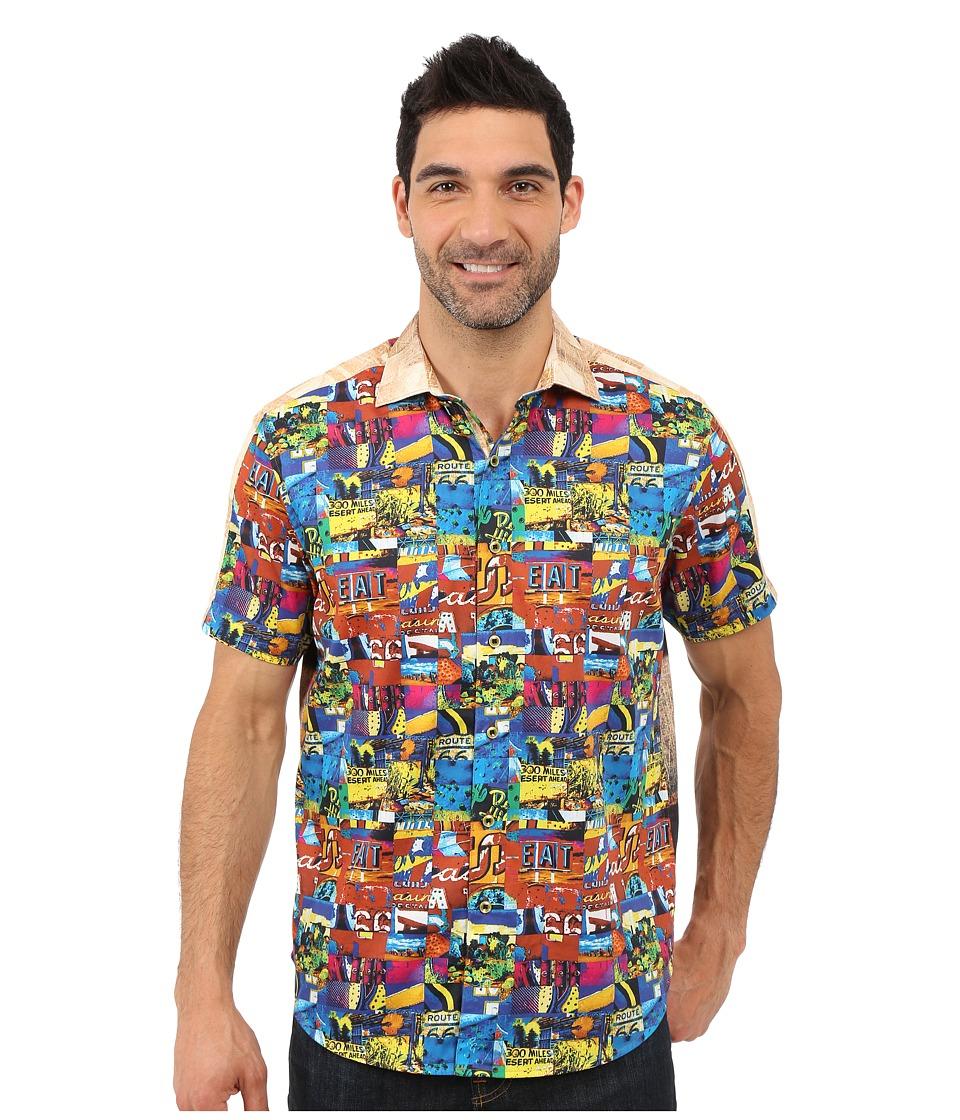 Robert Graham - Route 66 Short Sleeve Shirt (Multi) Men's Short Sleeve Pullover