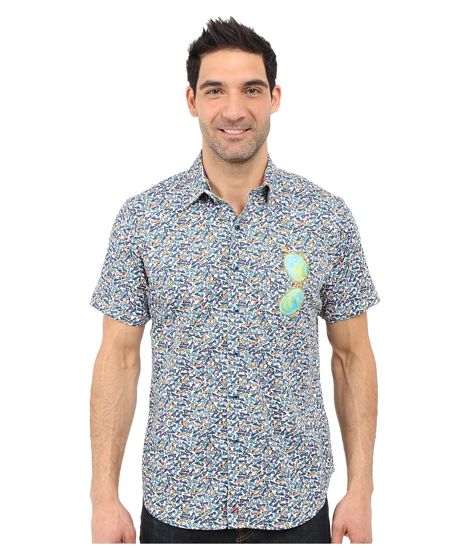 Robert Graham - Sunglass Valley Short Sleeve Shirt (Multi) Men's Short Sleeve Button Up