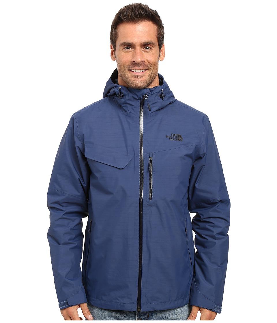The North Face - Berenson Jacket (Shady Blue/Shady Blue) Men's Coat