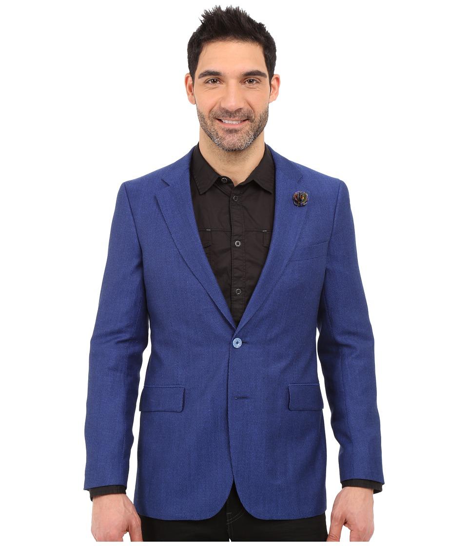 Robert Graham - Quinn Sport Coat (Blue) Men's Jacket