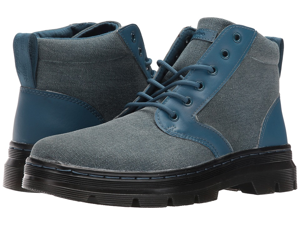 Dr. Martens Bonny Chukka Boot (Lake Blue 12oz. Waxy Canvas/Kanga) Lace-up Boots