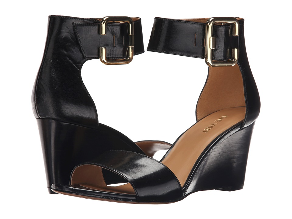 Nine West - Narcissus (Black Leather) Women's Shoes