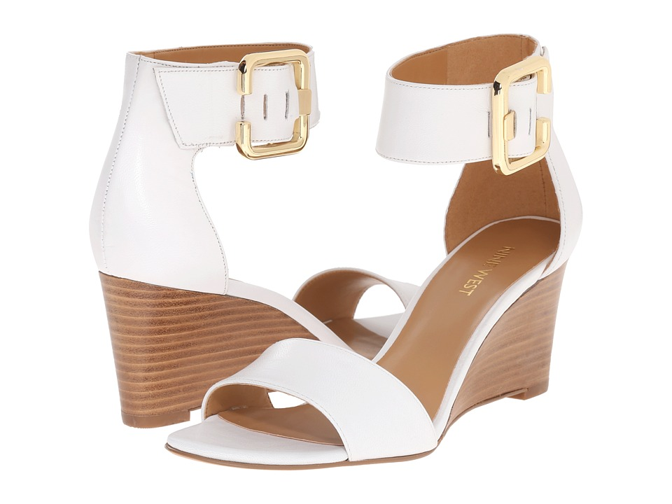 Nine West - Narcissus (White Leather) Women's Shoes