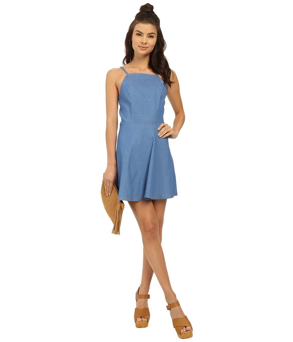 Clayton - Luca Dress (Denim) Women's Dress