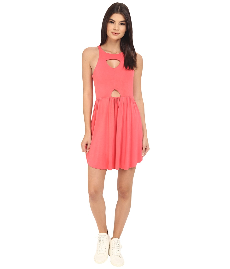 Clayton Maxwell Dress (Coral) Women