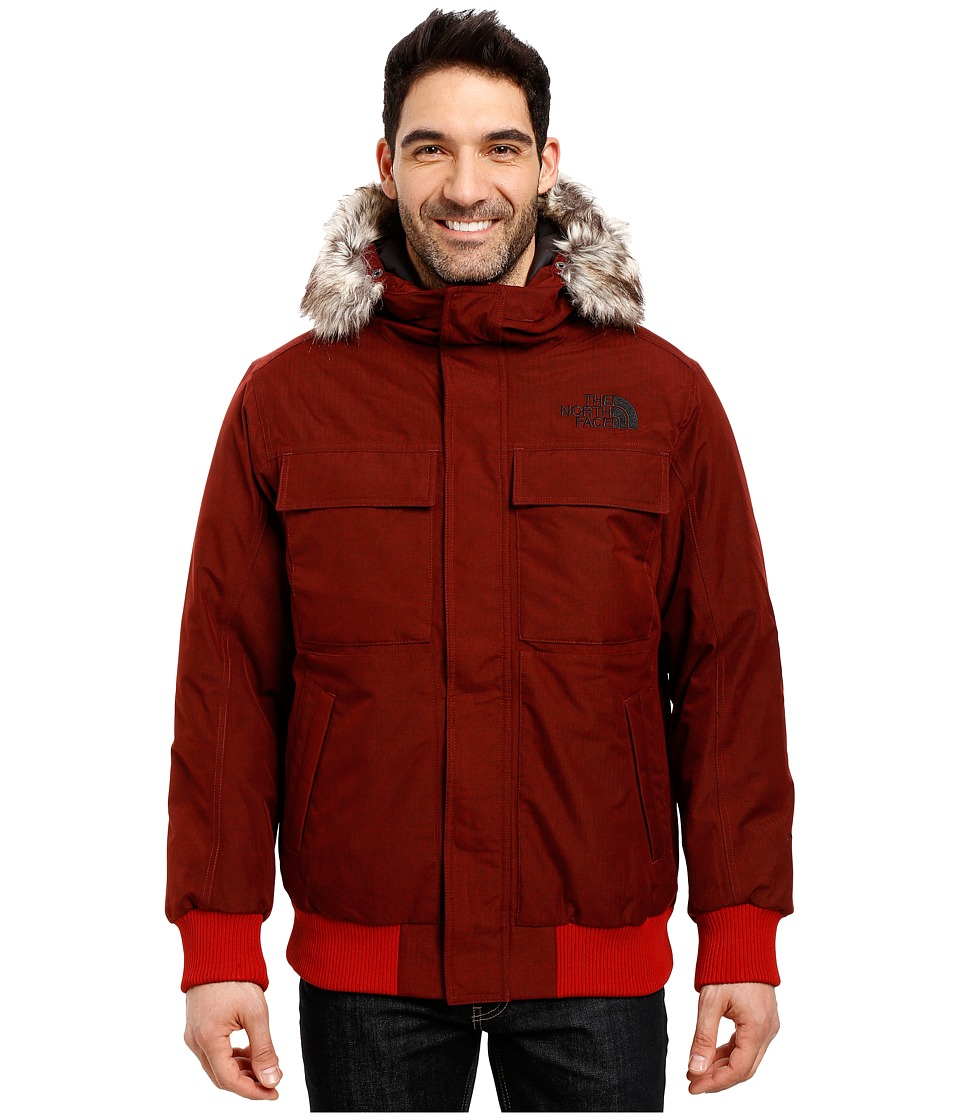 The North Face - Gotham Jacket II (Cardinal Red Heather) Men's Coat
