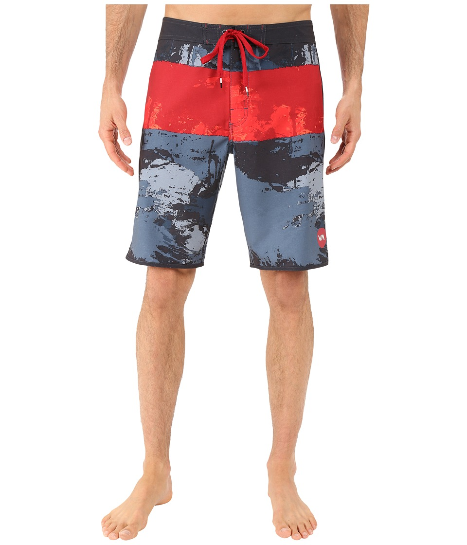 RVCA - Splice Trunks (Carbon) Men's Swimwear