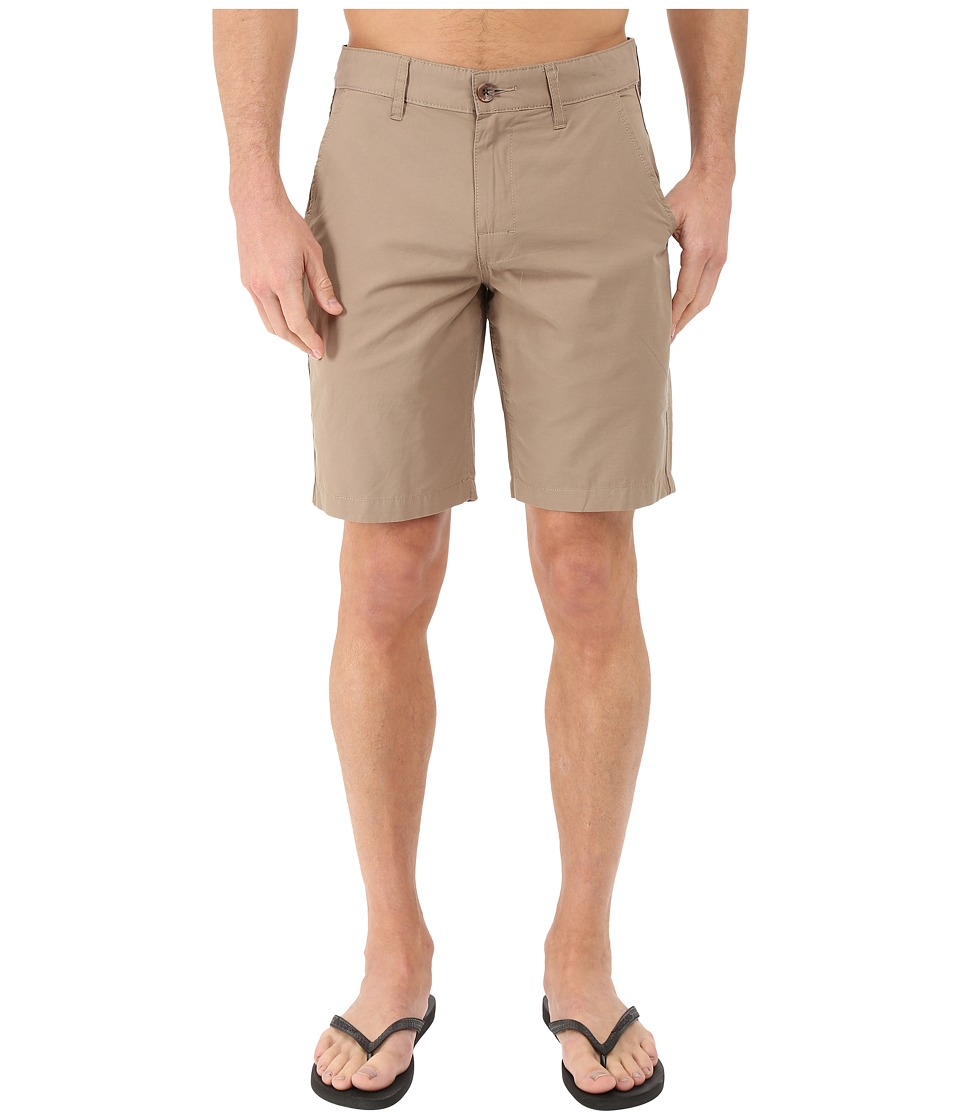 RVCA - Weekend Hybrid Shorts (Dark Khaki) Men's Shorts