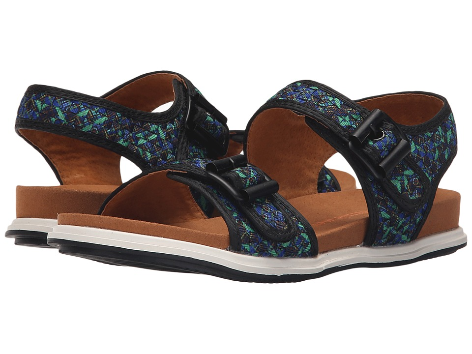 bernie mev. - Denver (Peacock) Women's Sandals