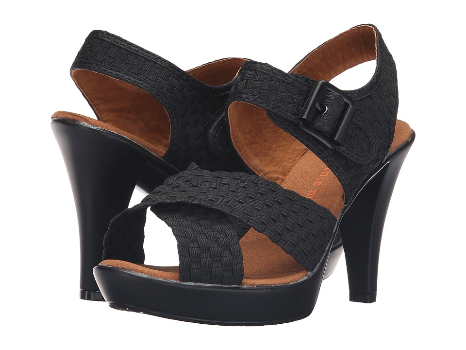 bernie mev. - Dashing (Black) High Heels