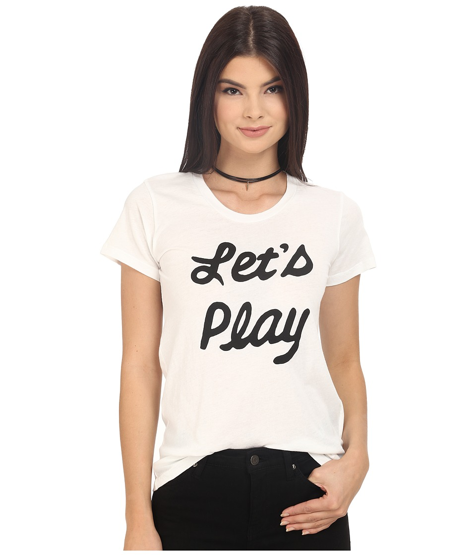 Clayton - Let's Play Basic Tee (White) Women's T Shirt