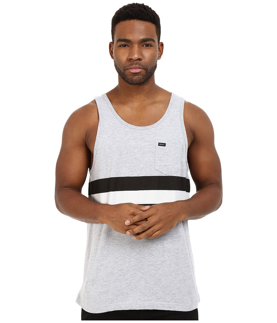 RVCA - Barlow II Tank Top (Athletic Heather) Men's Sleeveless