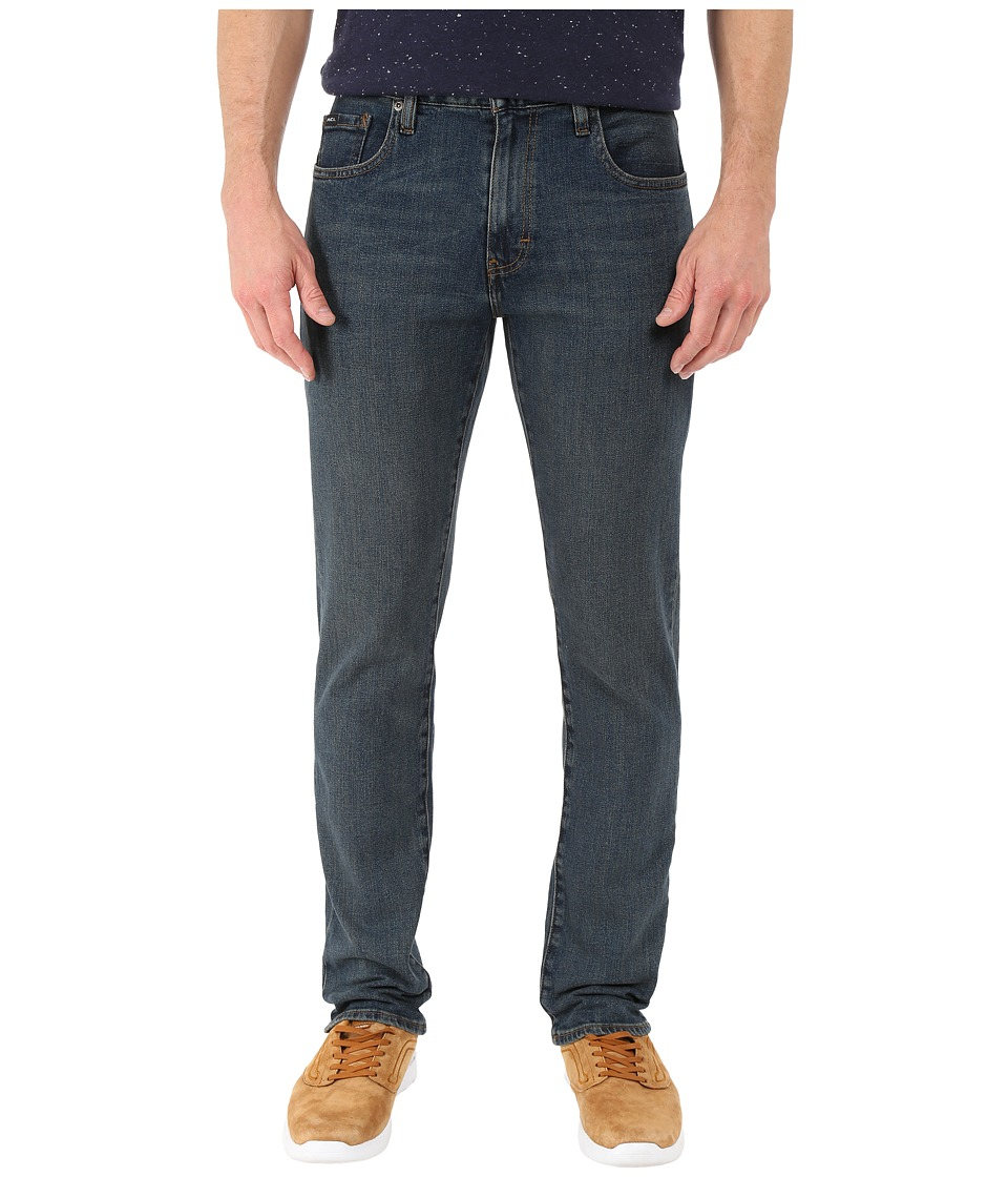 RVCA - Daggers Denim in Mid Blue (Mid Blue) Men's Jeans