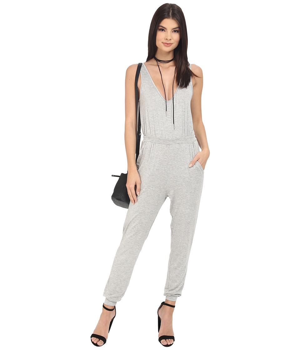 Clayton - Ripley Jumpsuit (Heather Grey) Women's Jumpsuit & Rompers One Piece