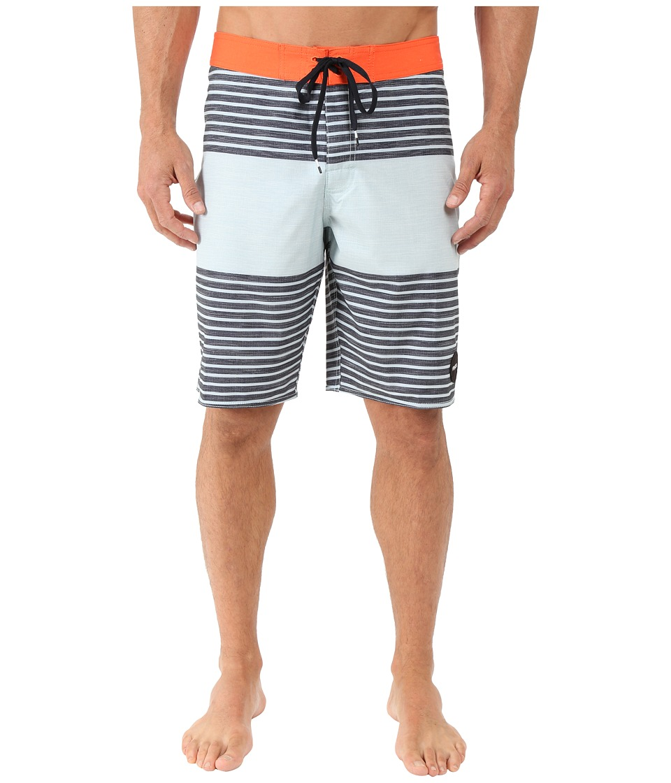 RVCA - Sinister Boardshorts (Carbon) Men's Swimwear