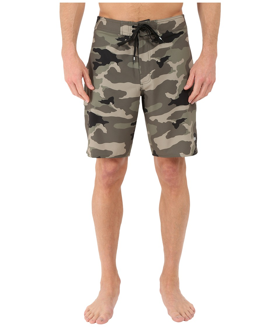 RVCA - VA Boardshorts (Camo) Men's Shorts