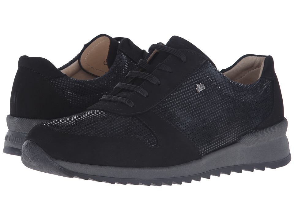 Finn Comfort - Sidonia (Black) Women's Lace up casual Shoes