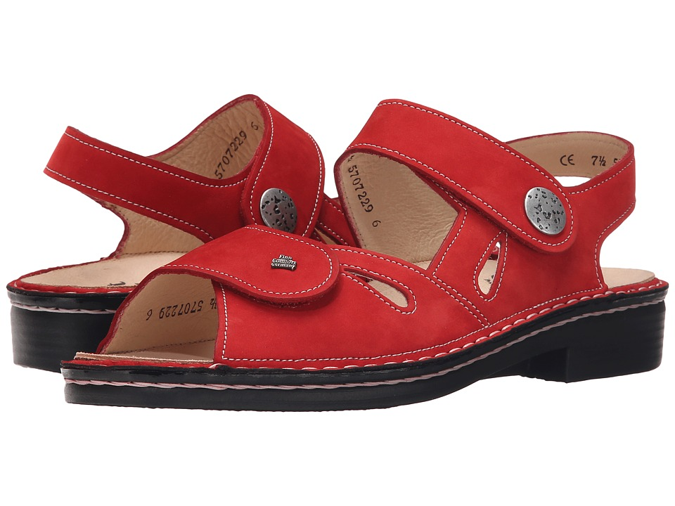 Finn Comfort - Costa (Red) Women's Shoes