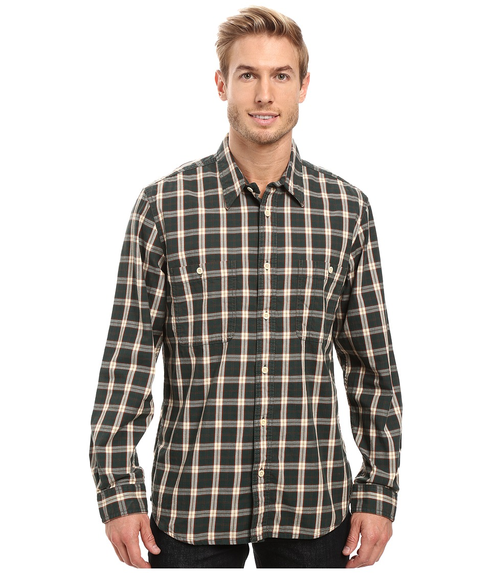 Filson - Wildwood Shirt (Green/Rust/Cream) Men's Clothing