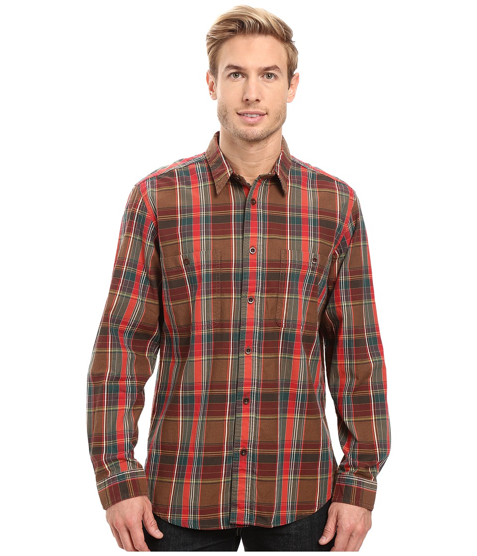 Filson - Wildwood Shirt (Red/Green/Brown) Men's Clothing