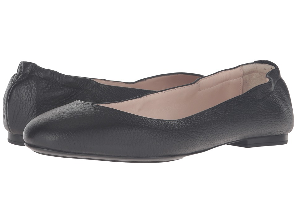 Sesto Meucci - 28405 (Black Tumbled Leather) Women's Slip on Shoes