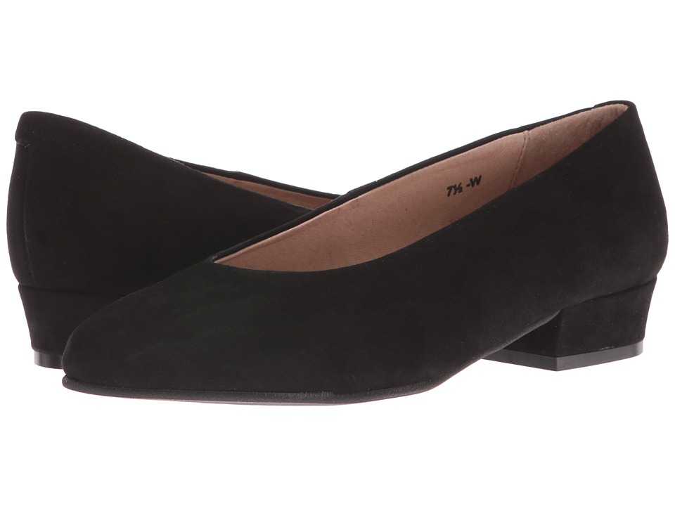 Sesto Meucci - T856 (Black Ante (Suede)) Women's 1-2 inch heel Shoes