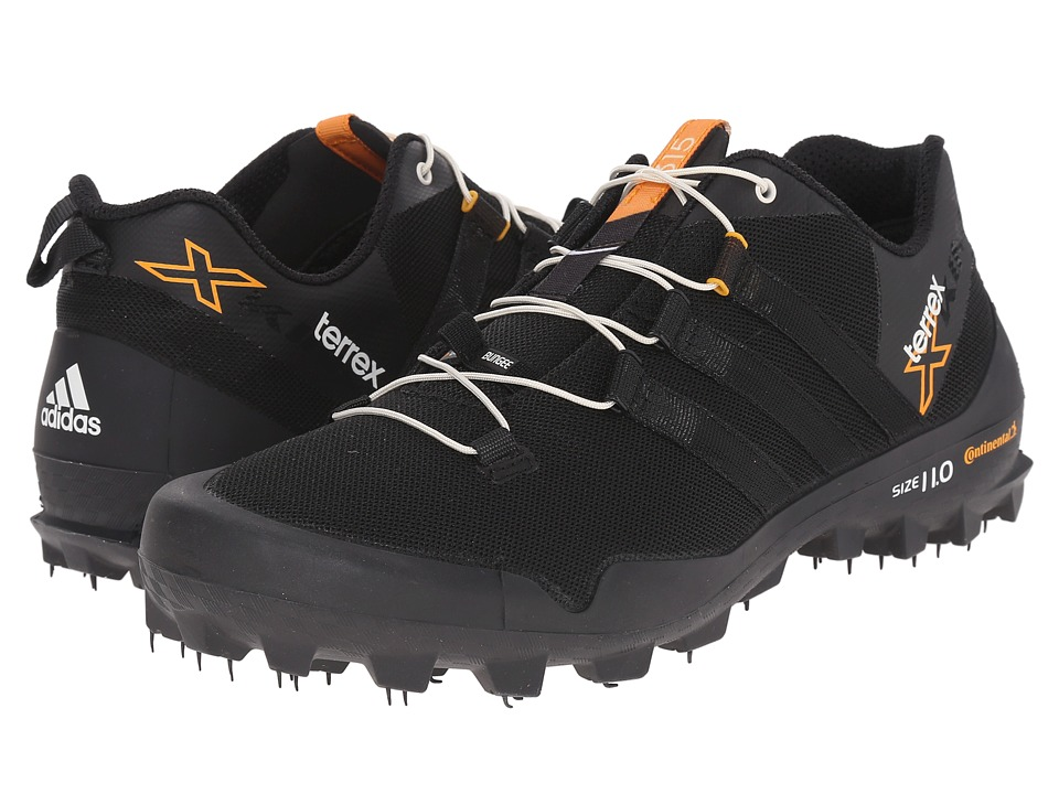 adidas Outdoor - Terrex X-King (Black/Chalk White/Dark Grey) Men's Shoes