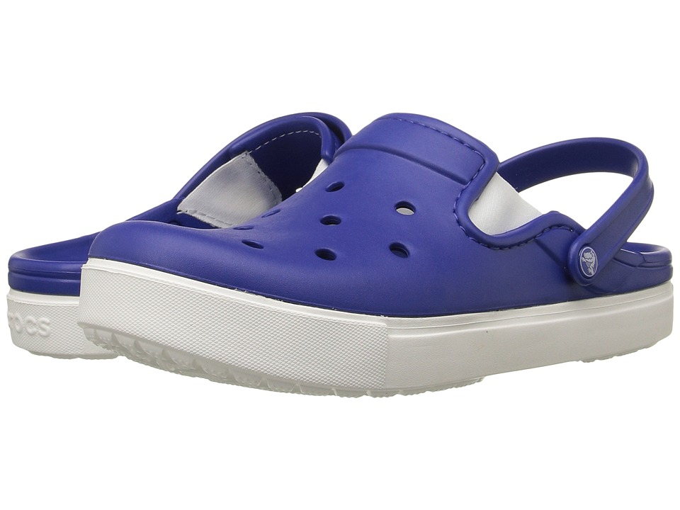 Crocs - CitiLane Clog (Cerulean Blue/White) Clog Shoes