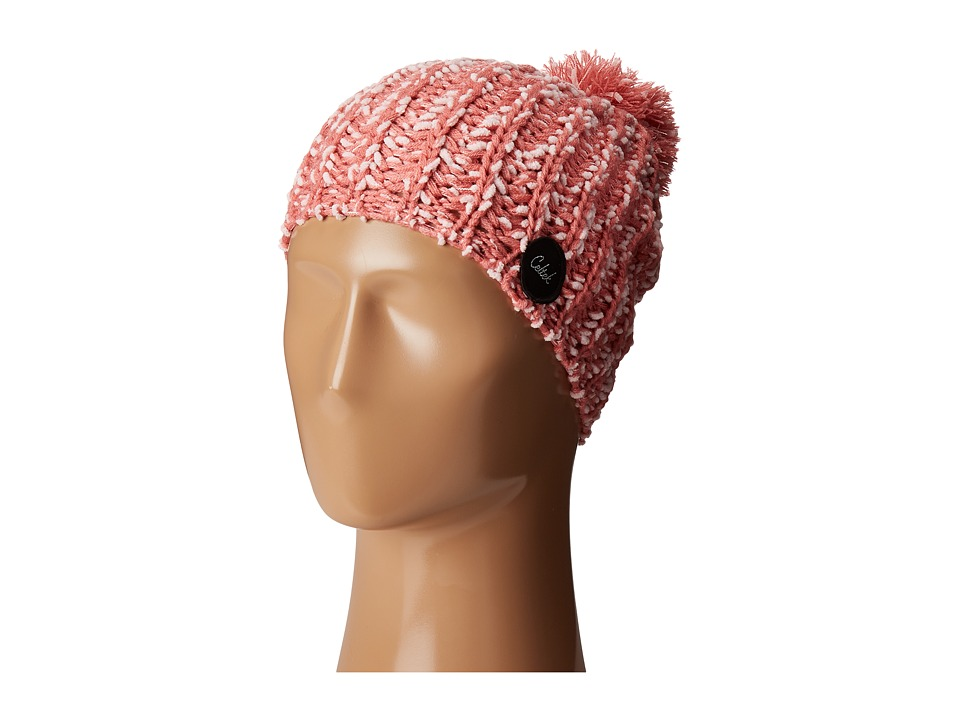 Celtek - Slouchy Pom Beanie (Petal Pink) Beanies