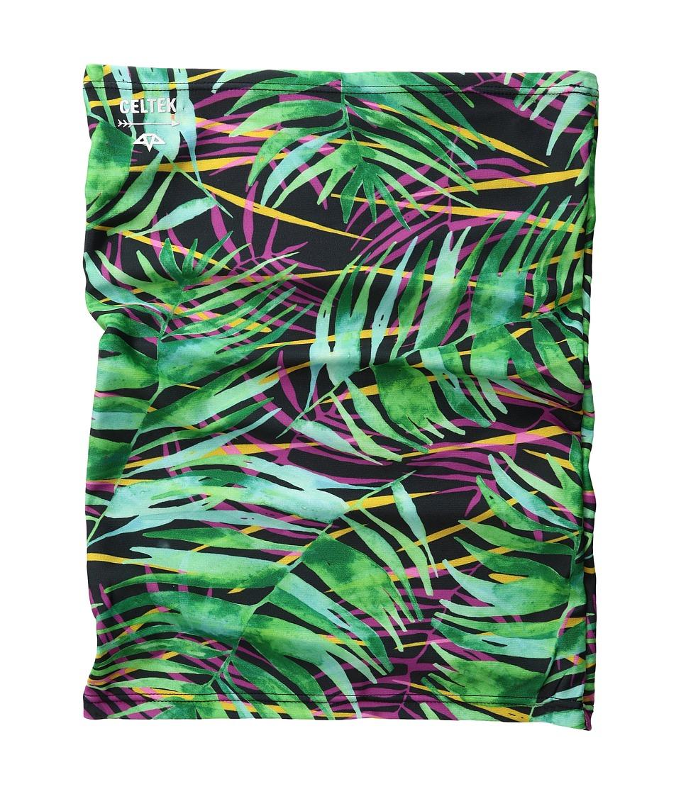 Celtek - Sun Beam Neck Gaiter (Island Palm) Scarves