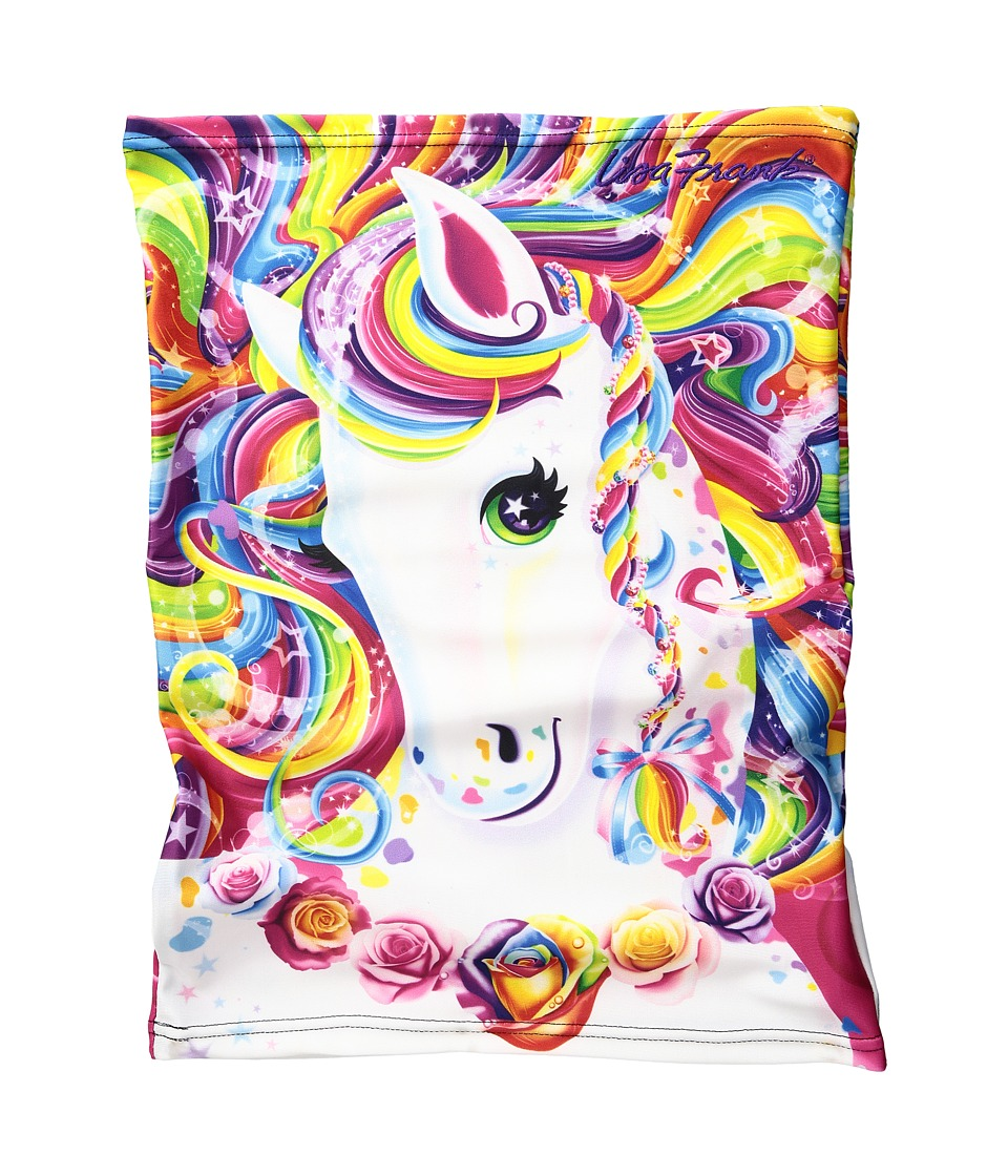 Celtek - Sun Beam Neck Gaiter (Lisa Frank Rainbow Majesty) Scarves