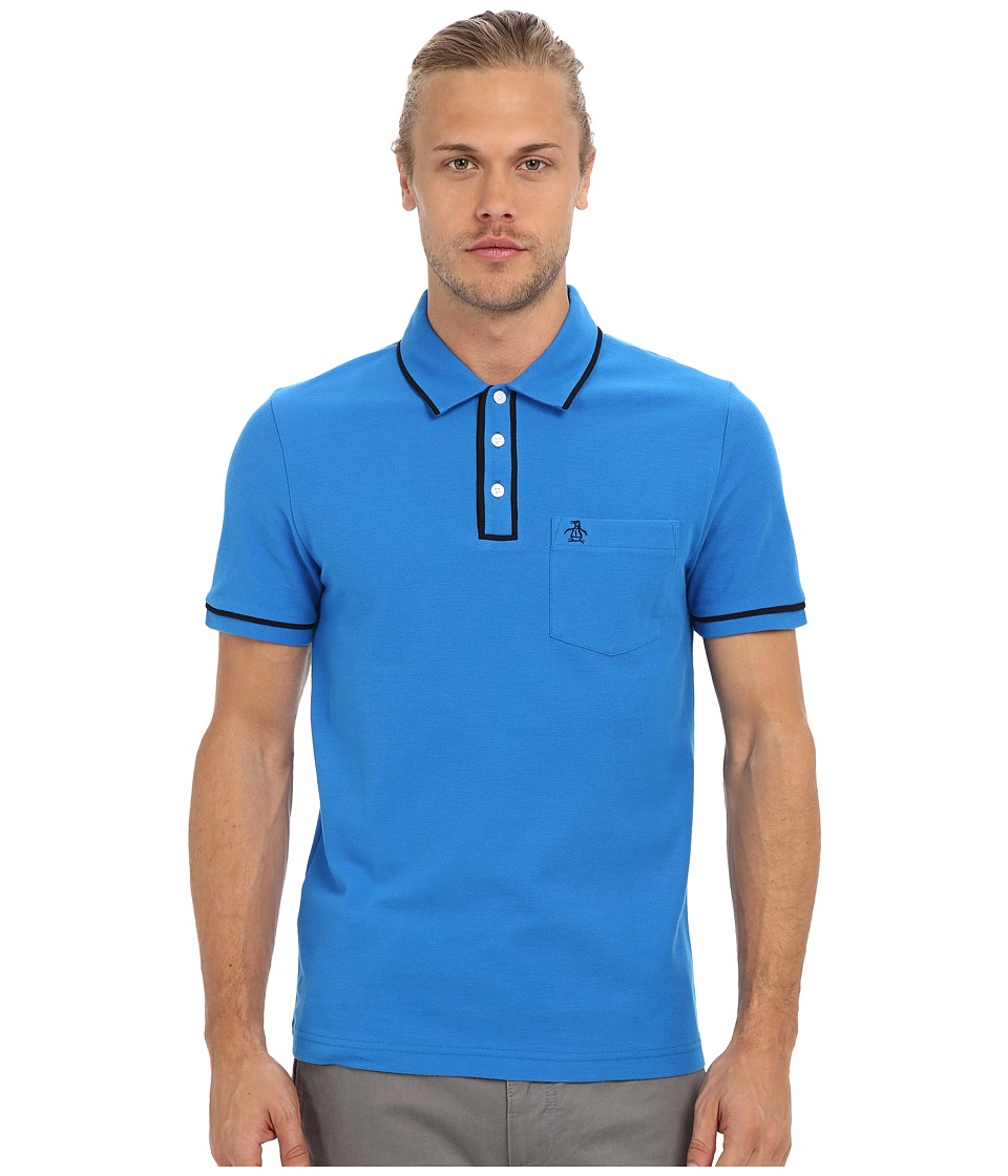 Original Penguin - Earl Polo (Directoire Blue) Men's Short Sleeve Pullover