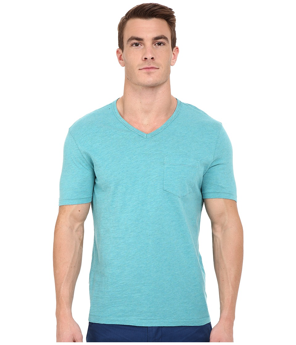 Original Penguin - Bing V-Neck (Brittany Blue) Men's T Shirt