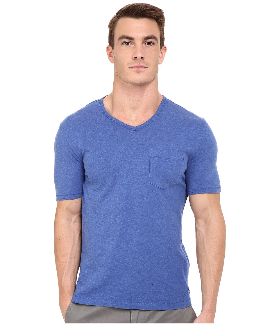 Original Penguin - Bing V-Neck (True Blue) Men's T Shirt