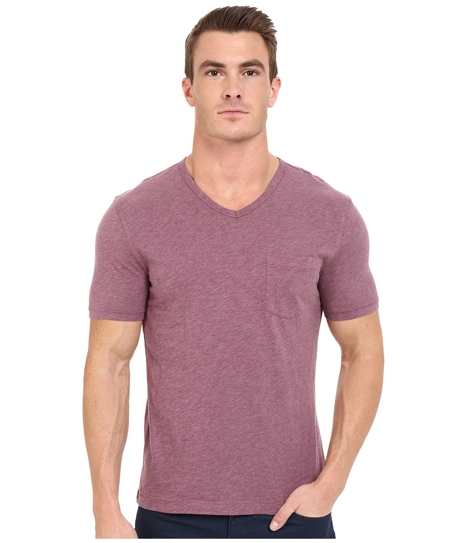 Original Penguin - Bing V-Neck (Grape Nectar) Men's T Shirt