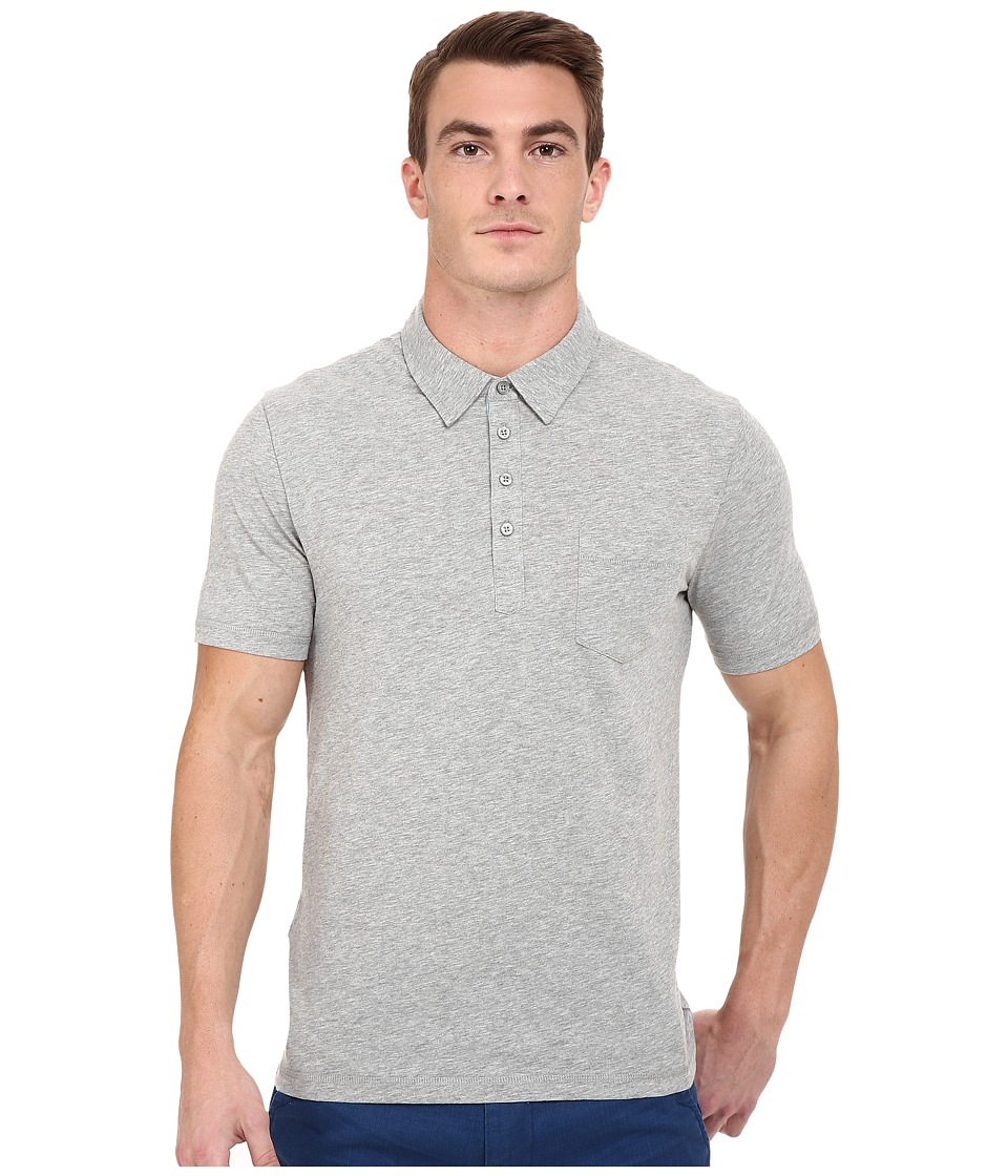 Original Penguin - Bing Polo (Rain Heather) Men's Short Sleeve Pullover