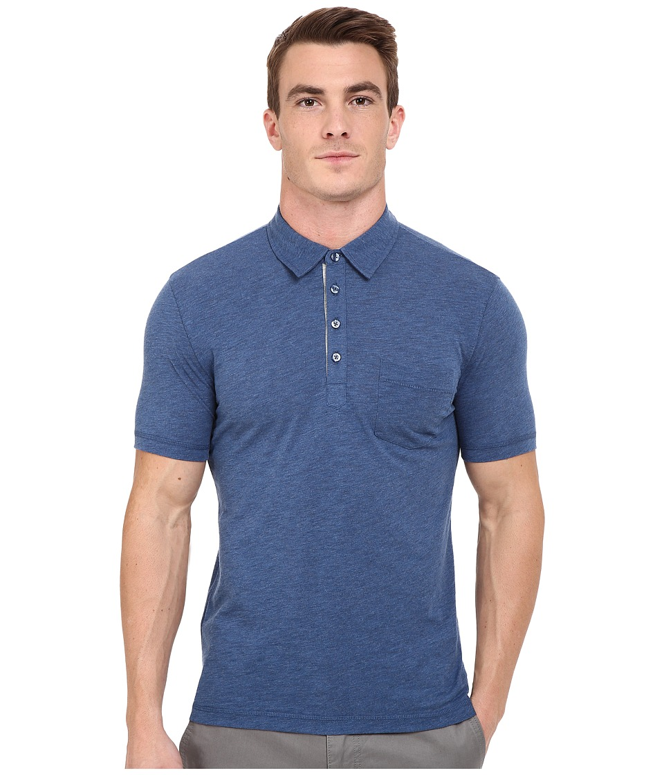 Original Penguin - Bing Polo (Dark Denim) Men's Short Sleeve Pullover