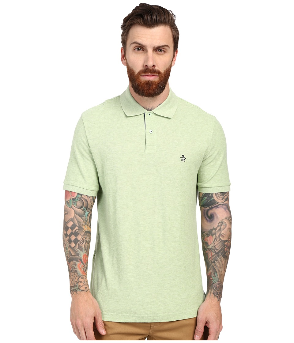 Original Penguin - Daddy-O Polo (Quiet Green) Men's Short Sleeve Knit