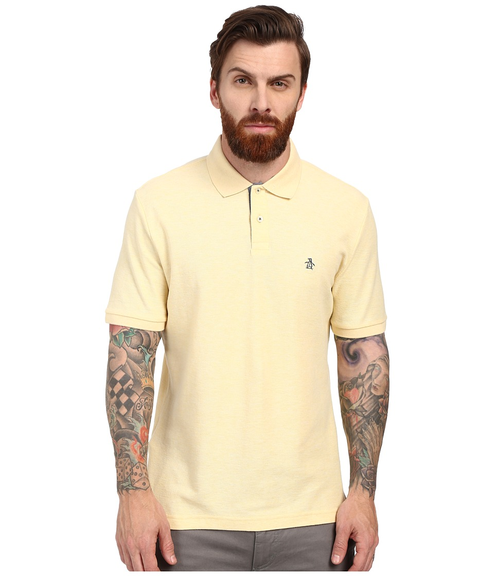 Original Penguin - Daddy-O Polo (French Vanilla) Men's Short Sleeve Knit