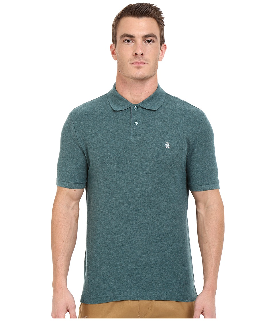 Original Penguin - Daddy-O Polo (Mediterranea) Men's Short Sleeve Knit