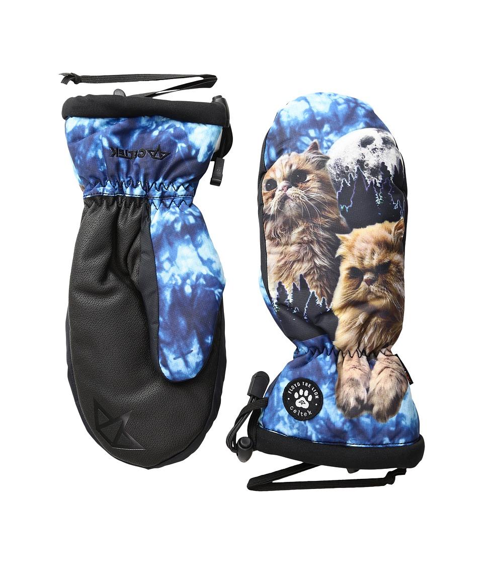 Celtek - Bitten By a Womitten (Floyd The Lion) Snowboard Gloves