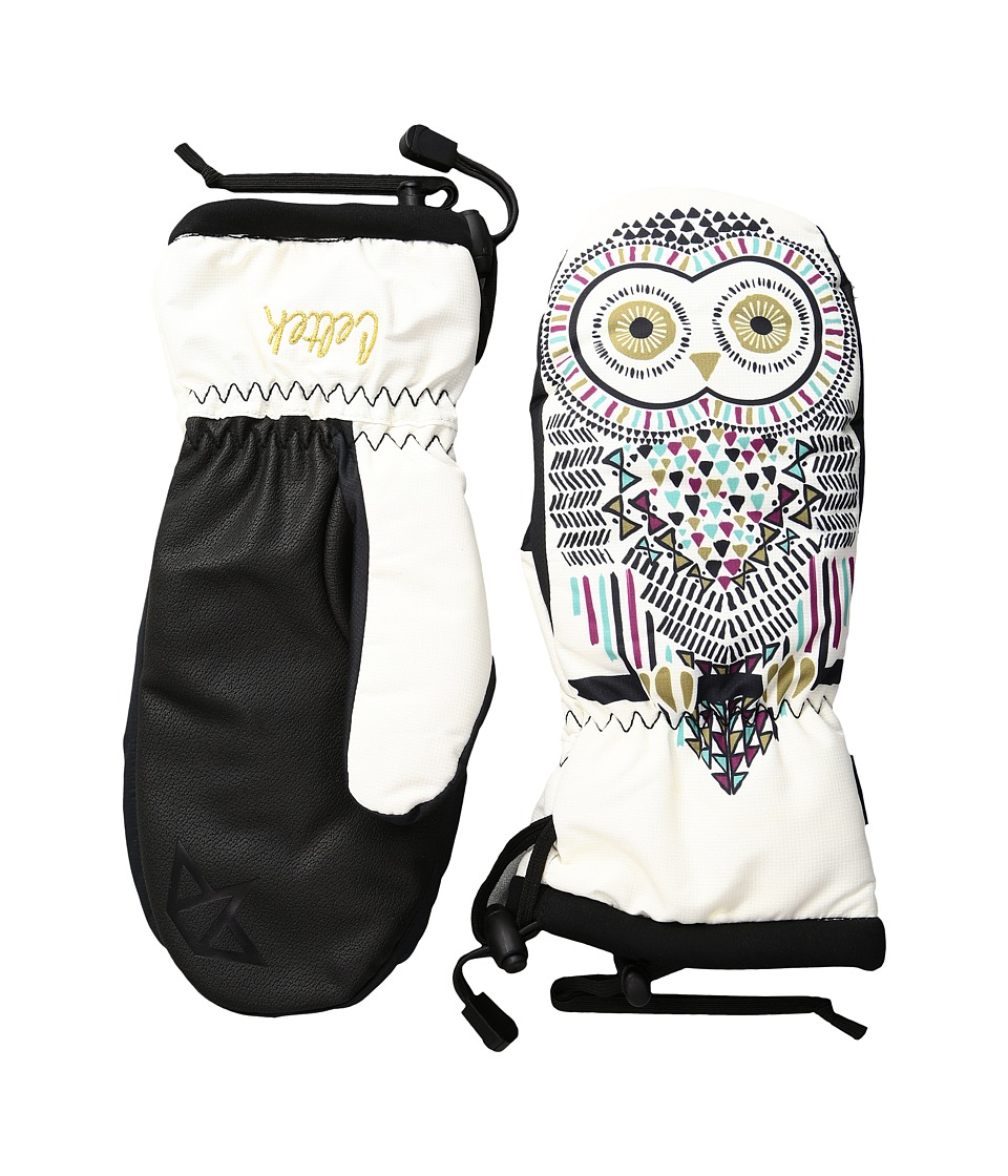 Celtek - Bitten By a Womitten (Owl) Snowboard Gloves