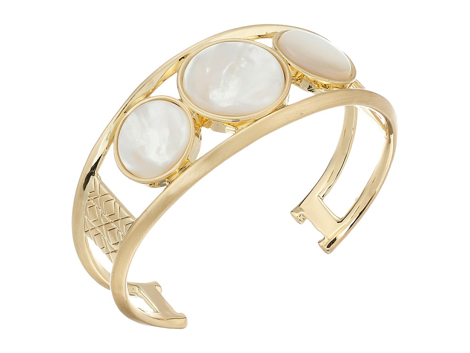 House of Harlow 1960 - Desert Oasis Cuff Bracelet (Mother-of-Pearl) Bracelet