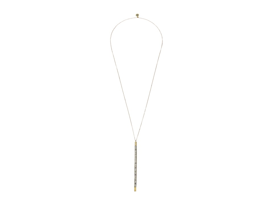 House of Harlow 1960 - Age of Antiquity Bar Necklace (Howlite) Necklace