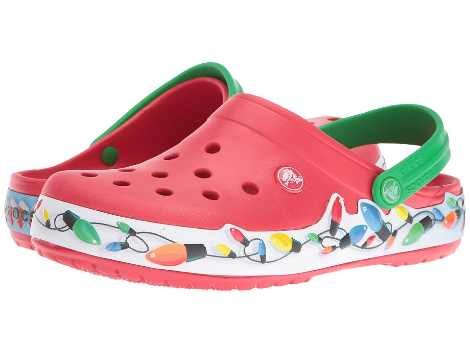 Crocs - Crocband Holiday Lights Clog (Multi) Clog Shoes