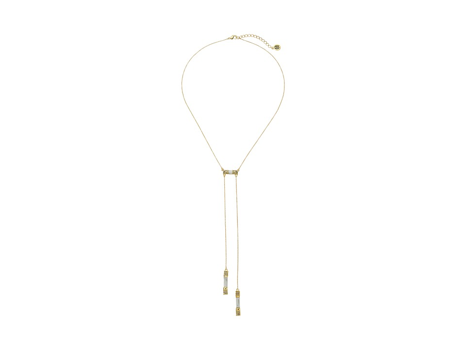 House of Harlow 1960 - Age of Antiquity Bolo Tie Necklace (Howlite) Necklace