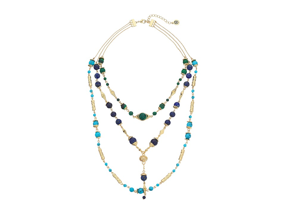 House of Harlow 1960 - Cairo Layered Statement Necklace (Multi) Necklace