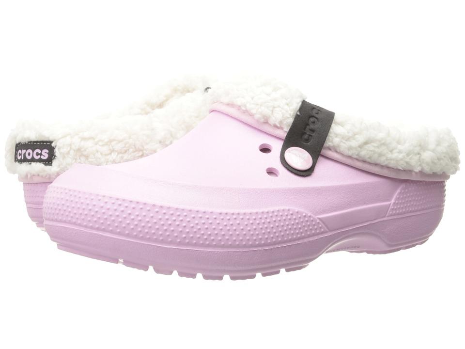 Crocs - Classic Blitzen II Clog (Ballerina Pink/Oatmeal) Clog Shoes